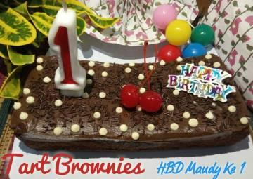 Resep Tart Brownies Top