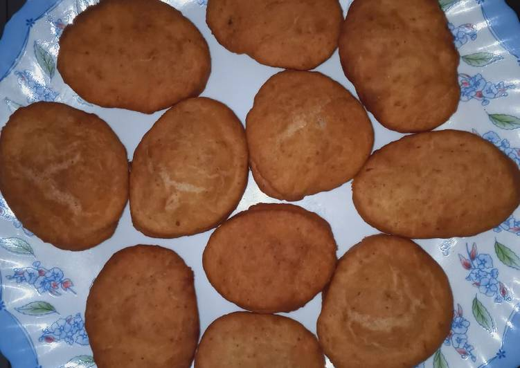Cinnamon lemon zest mandazi *sugar free*