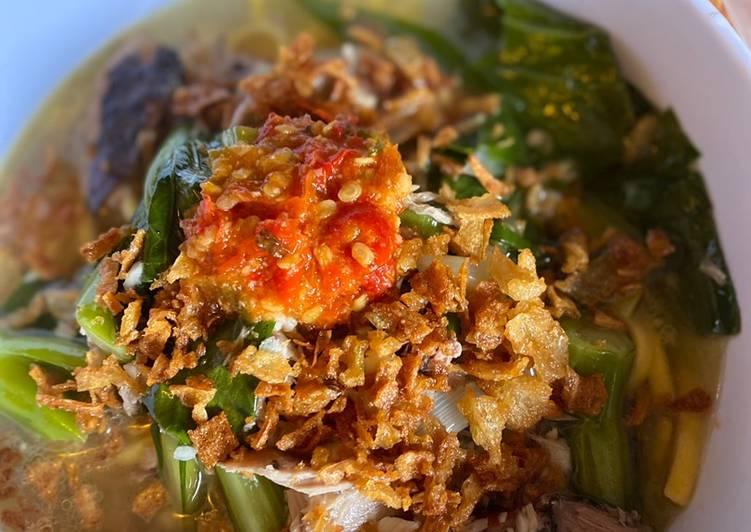 Cakalang Noodles Soup (Mie Cakalang Manado)