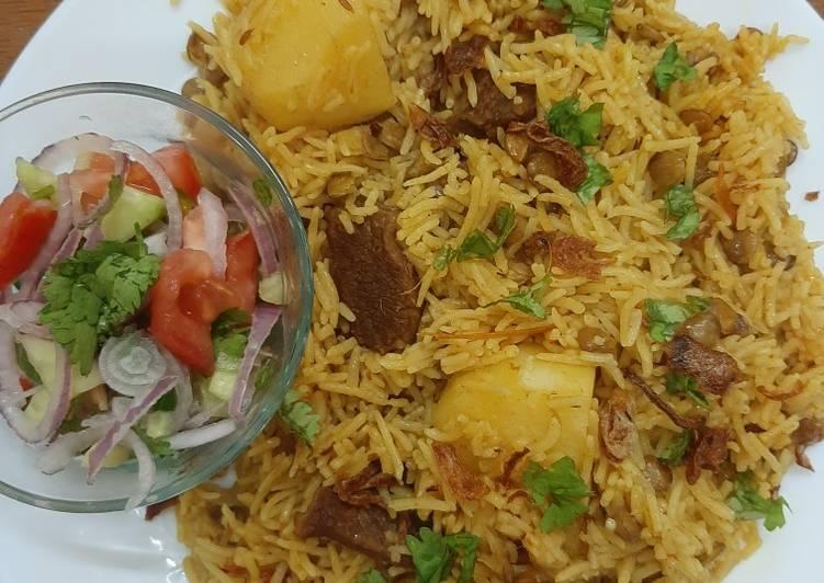 Green Lentils With Rice 😊(akha masoor pulav) #mommasrecipe