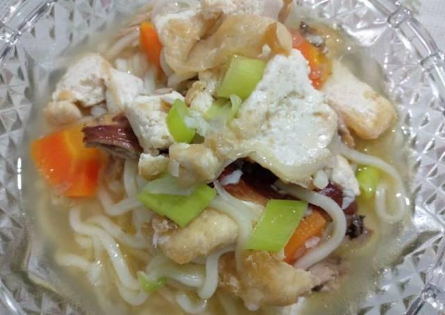 Mie Kuah CaTa (Cakalang & Tahu)