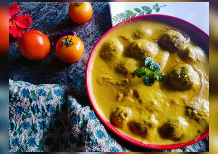Jackfruit kofta curry