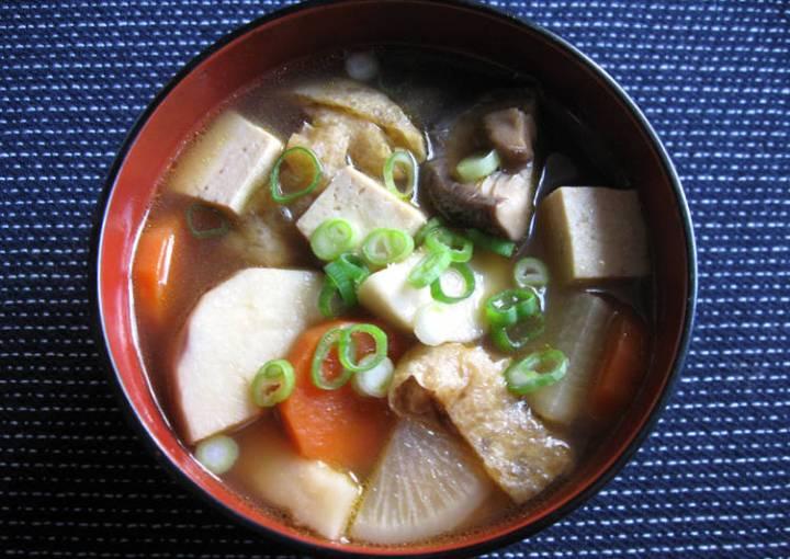 Monk's Vegan Soup 'Kenchin-jiru'