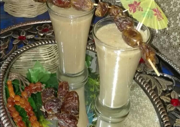 Dates Milkshake #ramadankitayari #CookPadApp