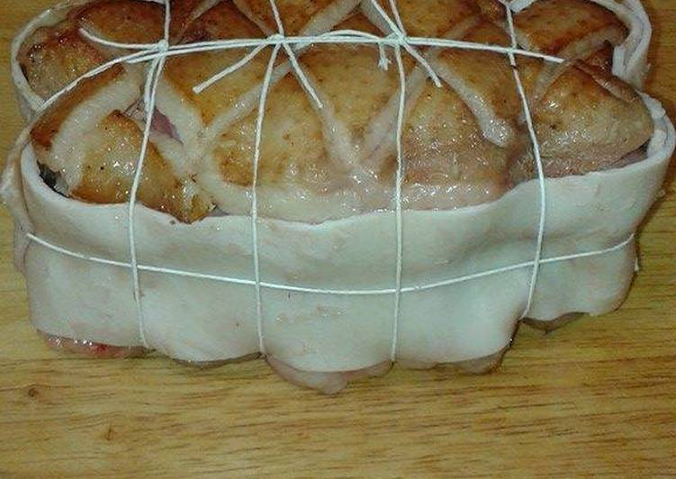 Magret de canard, farcis au foie gras