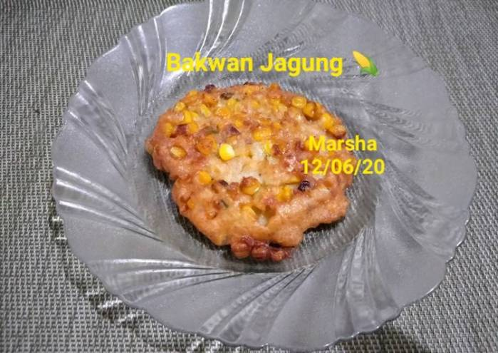 Resep Bakwan jagung 🌽 Paling Mudah