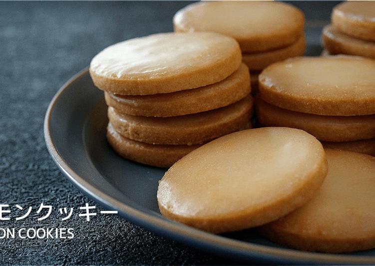 Lemon Cookies (Glazed Lemon Butter Cookies) ★Recipe Video★