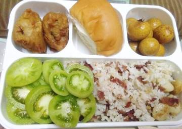 Resep Nasi goreng sosis HAM (bekel pak suami) Paling Joss