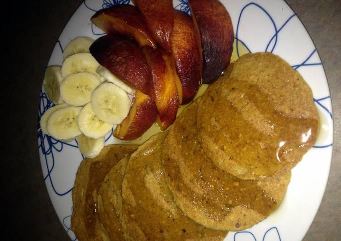 Oatmeal Pancakes (Vegan)