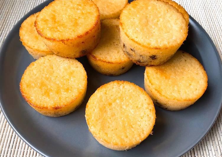 Muffins citron pépites de chocolat