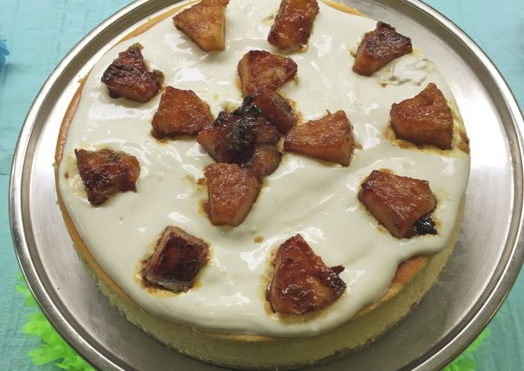 Sour Cream CheesecakeFUSF