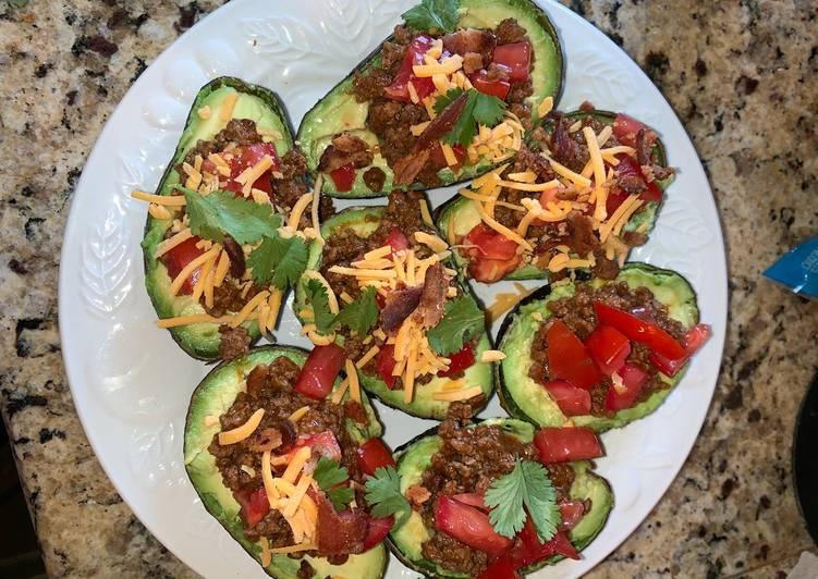 Taco Stuffed Avocado's