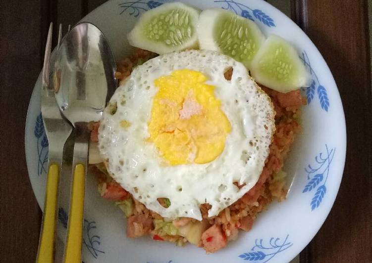 Special spicy fried rice😋😋