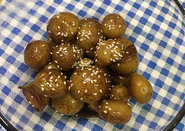 Korean Potato Banchan Gamja Jorim