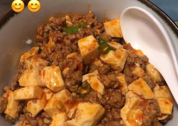 Japanese style mapo tofu