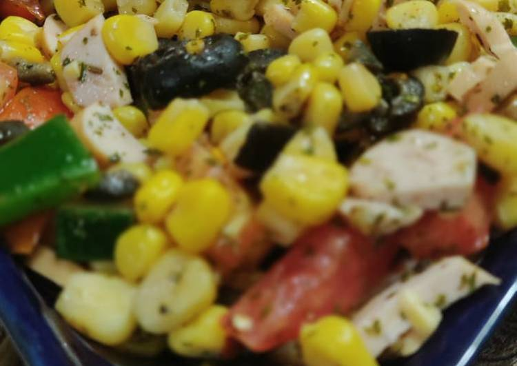 Easy veggie salad