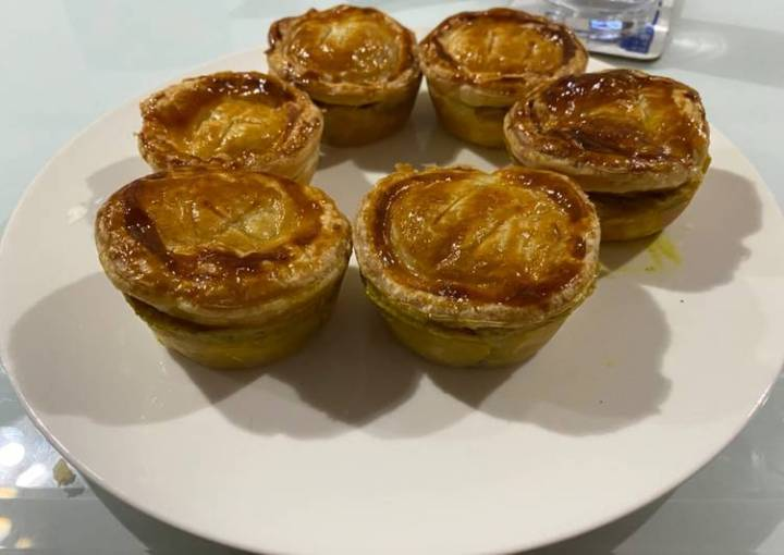 Chicken Curry Pies