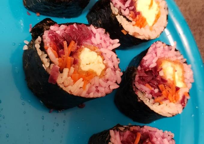 Vegan Crispy Tofu Sushi Rolls