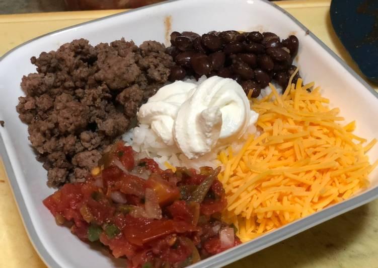Poorman's Beef Burrito Bowl