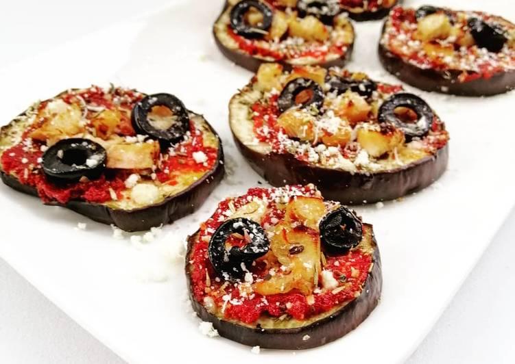 Pizz'aubergines