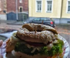 Recipe: Appetizing Bagel Sandwich