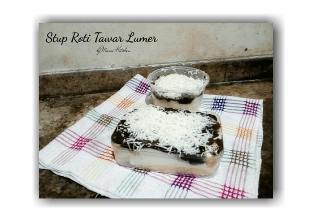 Stup Roti Keju Lumer