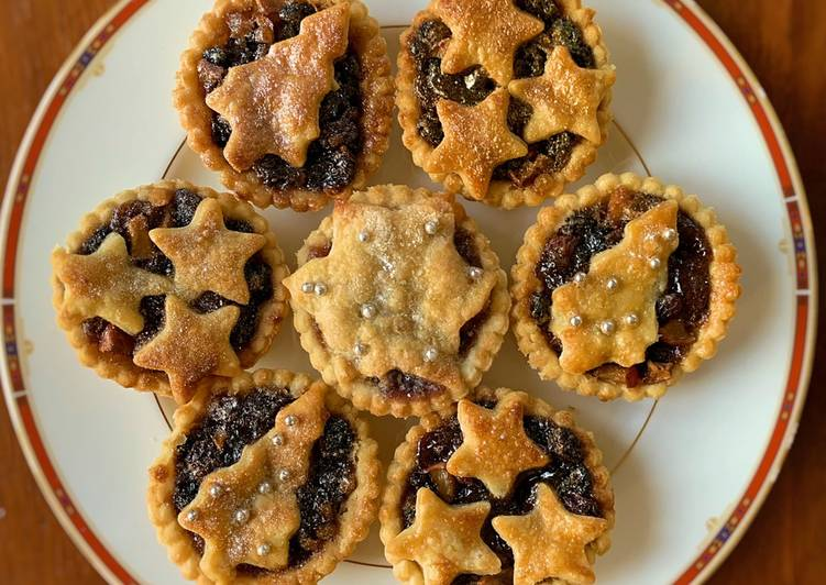 Mince Pies Pastry Recipe Vegan friendly