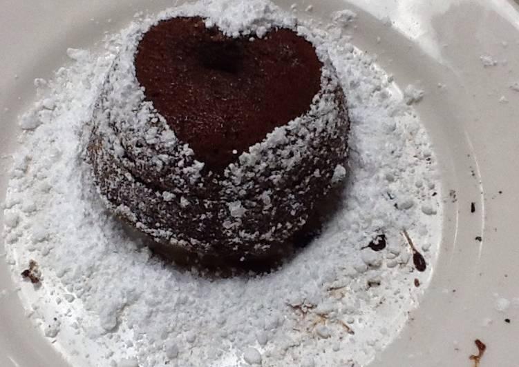 Valentine Lava cake