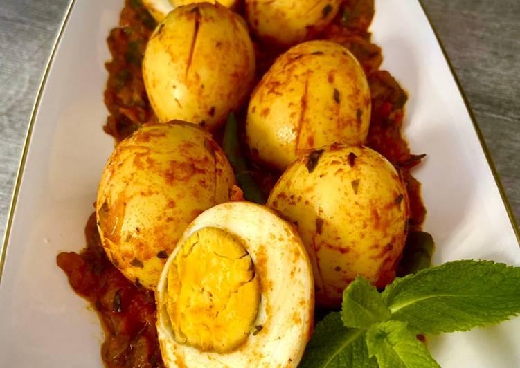 Spicy Egg Curry  #MyCookbook