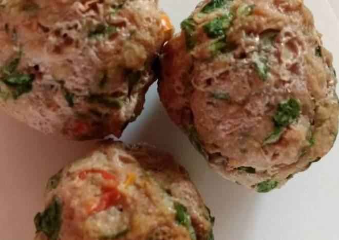 Low-cal meatball snacks