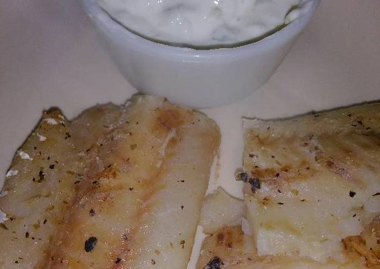 Greek-style Grilled Fish