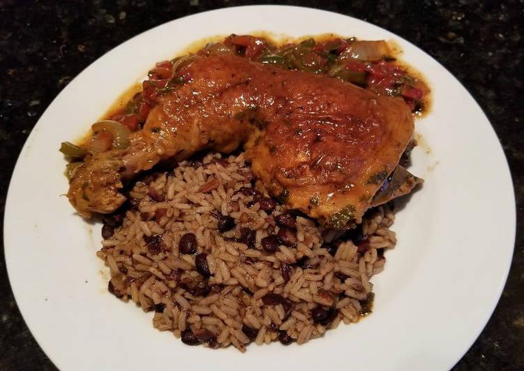 Cuban-Style Chicken & Rice