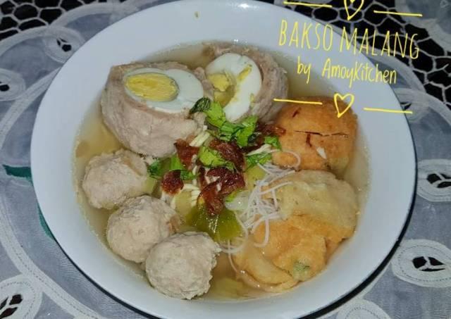 Bakso Malang (Bakwan Malang)