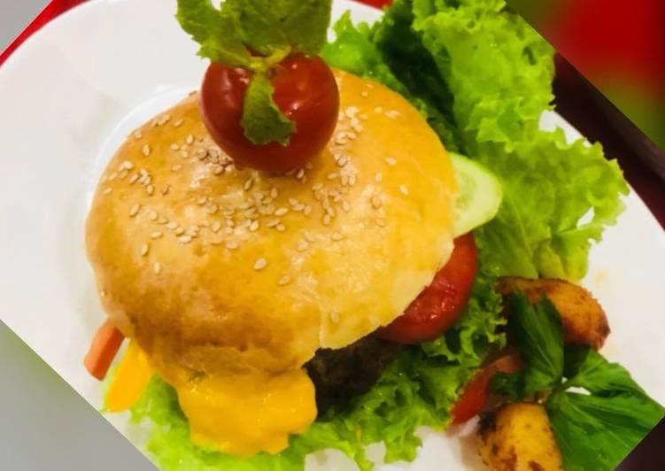 Whosayna's Beef Burger