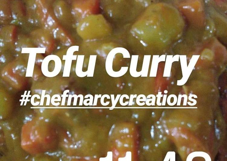 Chef Marcy's Tofu Curry