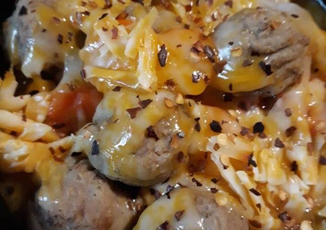 Meatball, Carrot, and Onion Soup