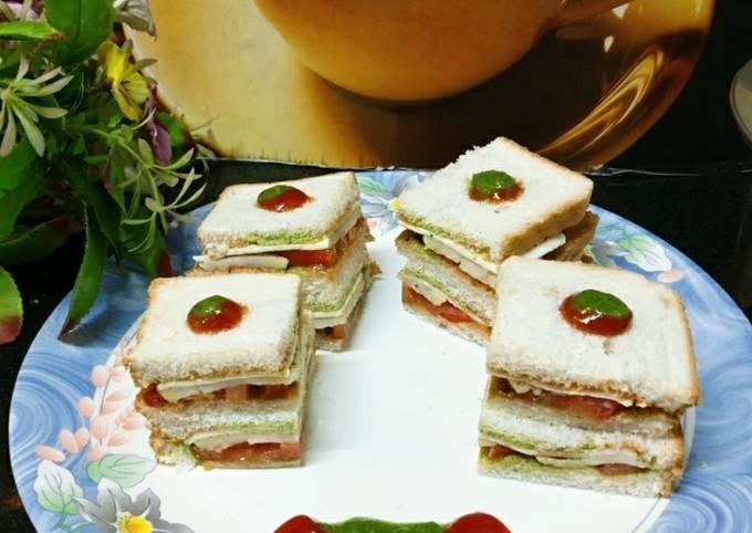 Vegetable Bombay Sandwich