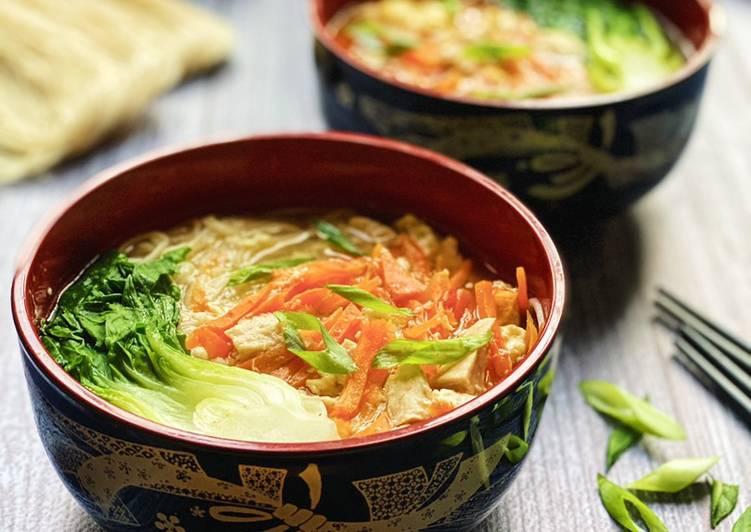 Egg Misua Noodles Soup