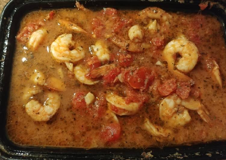 Shrimp w/ Ricotta and Tomato (for keto) pressure cooker