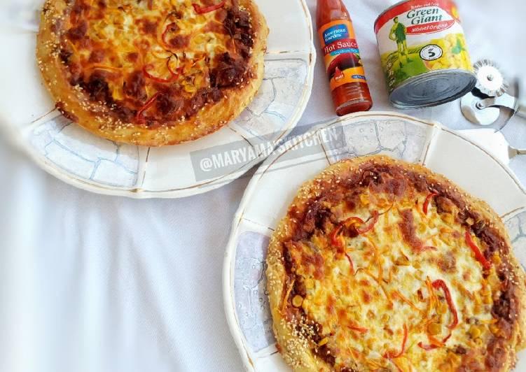 Beef&chicken pizza