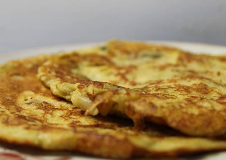 Pancakes Poireaux-Ricotta