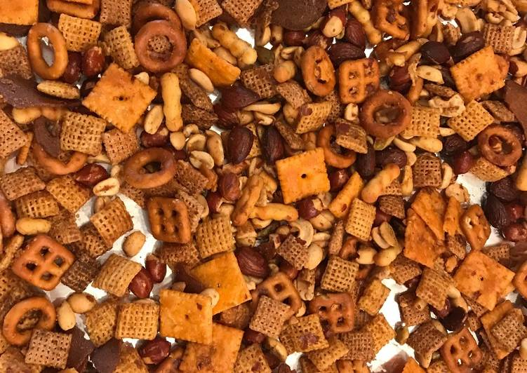 Chex Mix - Carolina Reaper Style