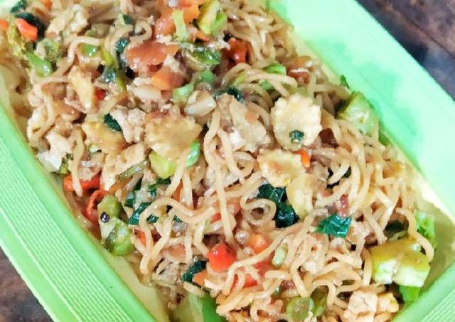 Mie Instant Goreng Sehat