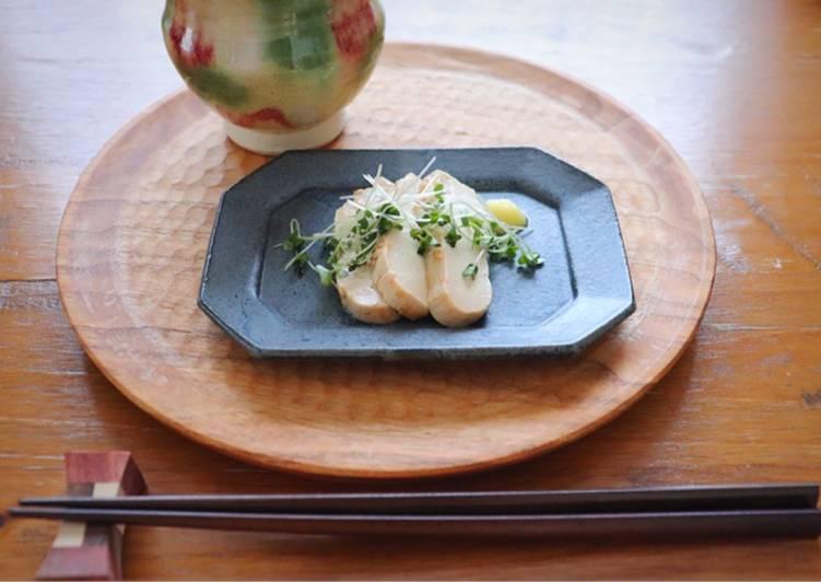 "Miso-pickled ""tofu"""