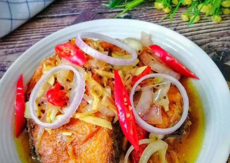 Resepi Ikan Masak Cuka Rizalman Jom Resepi