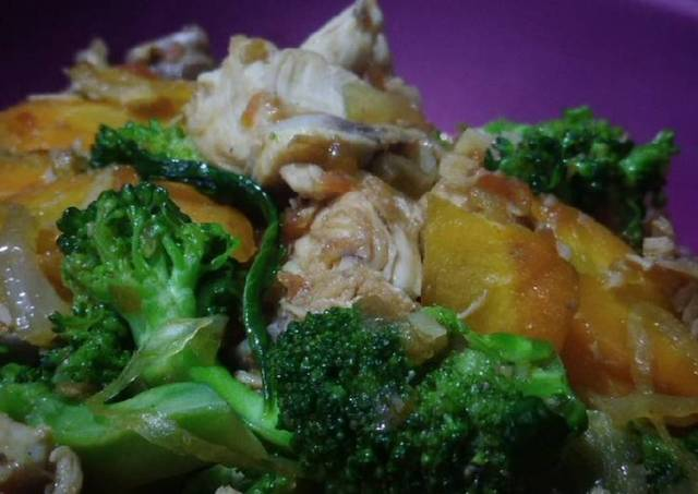 Cah Ayam Sayuran(Resep Bekal Anak Praktis Padat Gizi)