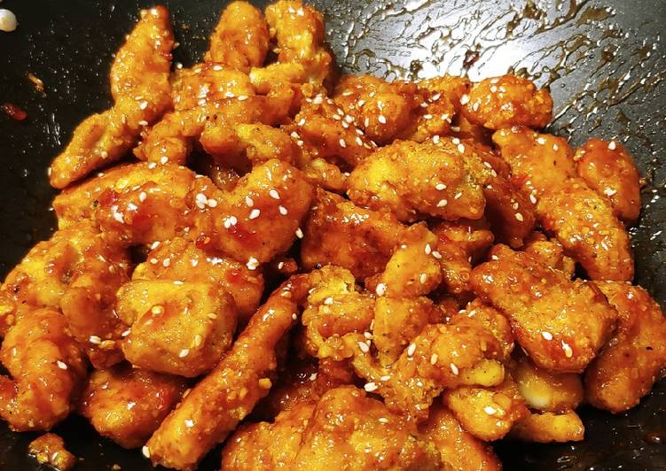 Baked Sweet Chilli Chicken Nuggets