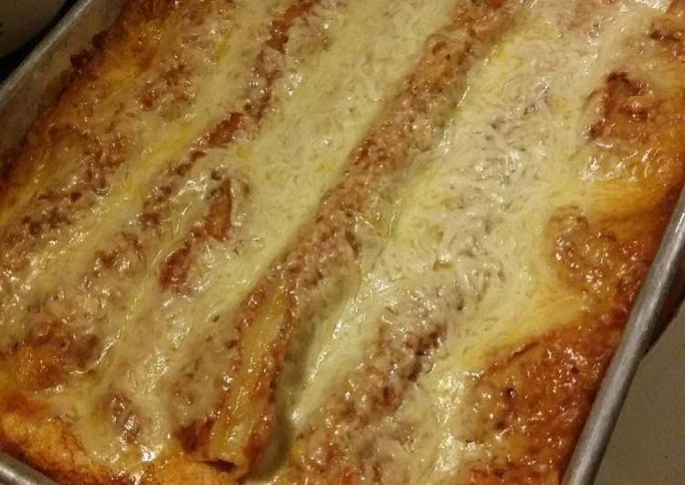 Simple Meatless Lasagna