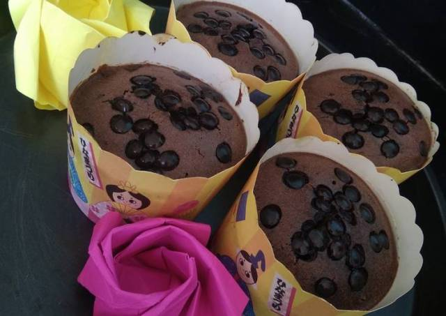 Chocolate Muffins Simple
