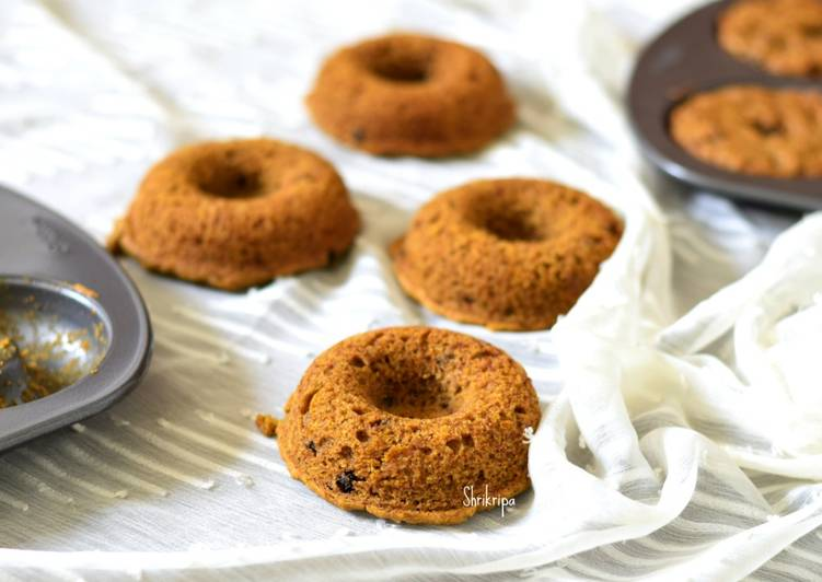 Mango mini cake doughnuts